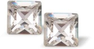 Swarovski Crystal Xilion Studs Clear Crystal Earrings