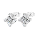 Byzantium Collection Crystal Stud Earrings