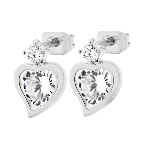 Byzantium Collection Crystal & Diamante Dot Earrings