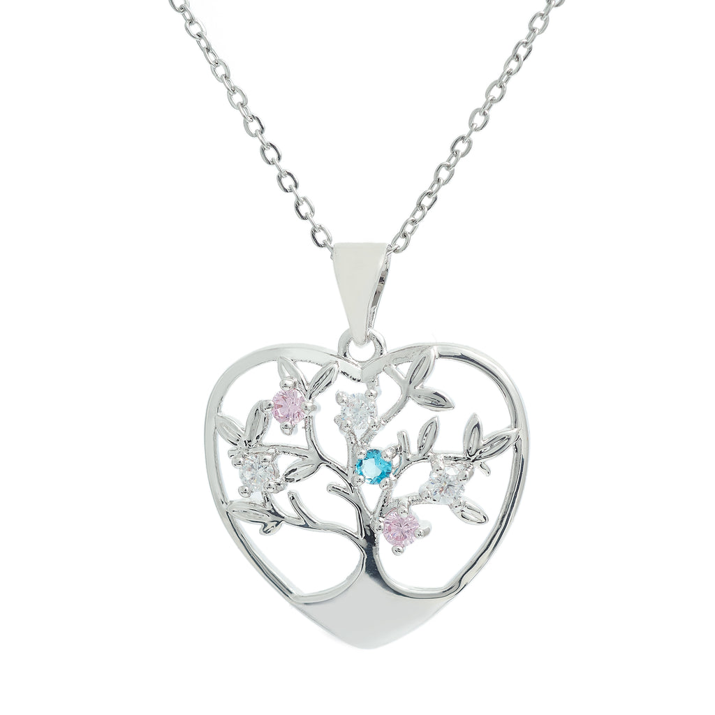 Heart Tree of Life crystal embellished
