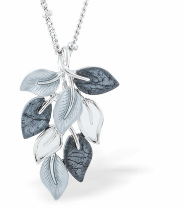 Designer Autumn Leaves Necklace