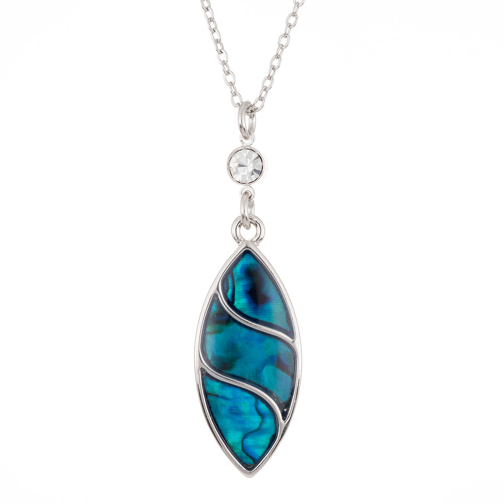 Paua Shell Ovale Necklace