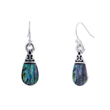 Paua Shell Classic Drop Earrings