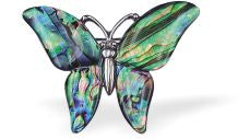 Paua Shell Butterfly Brooch