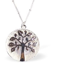 Designer Crystal Tree of Life Necklace