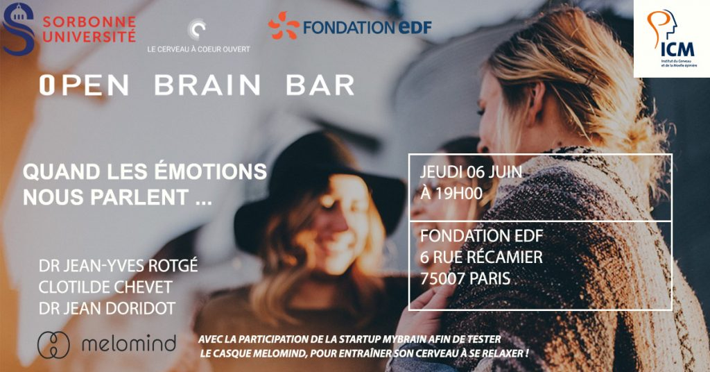 Institut du Cerveau et de la Moëlle Épinière - The myBrain Technologies Research Team invited to the Open Brain Bar