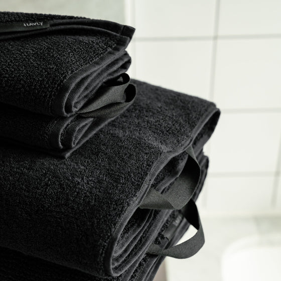 Seriously Black Classic Bath Towel