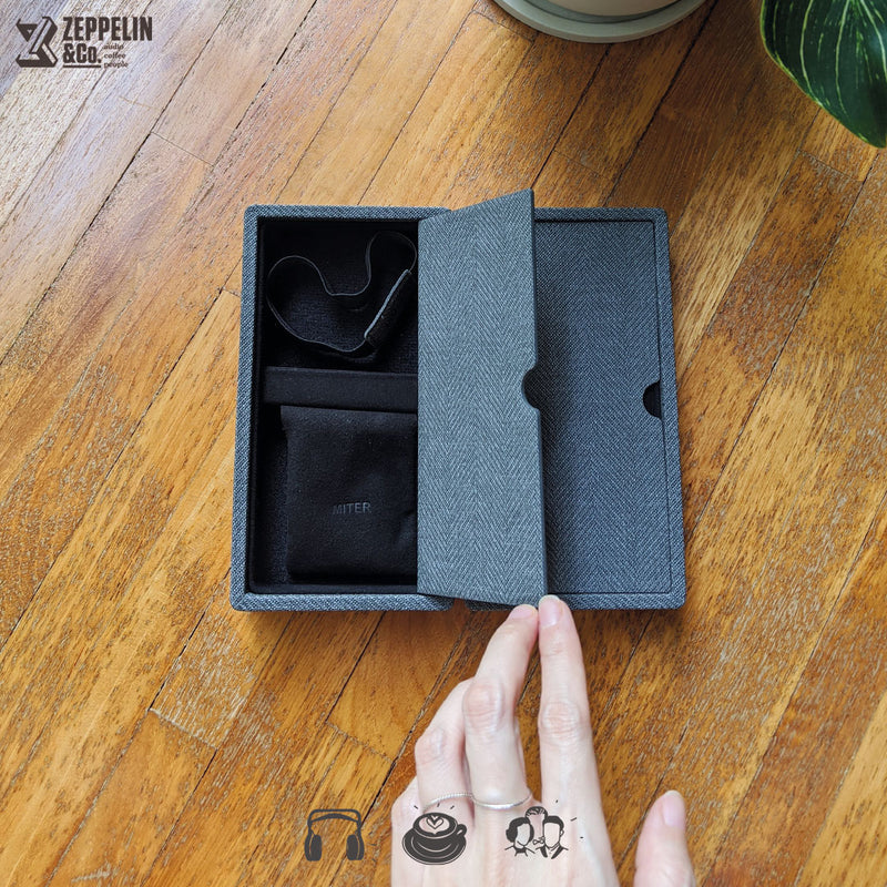 [PRE-ORDER] Miter DAP + Earphone Carrying Case