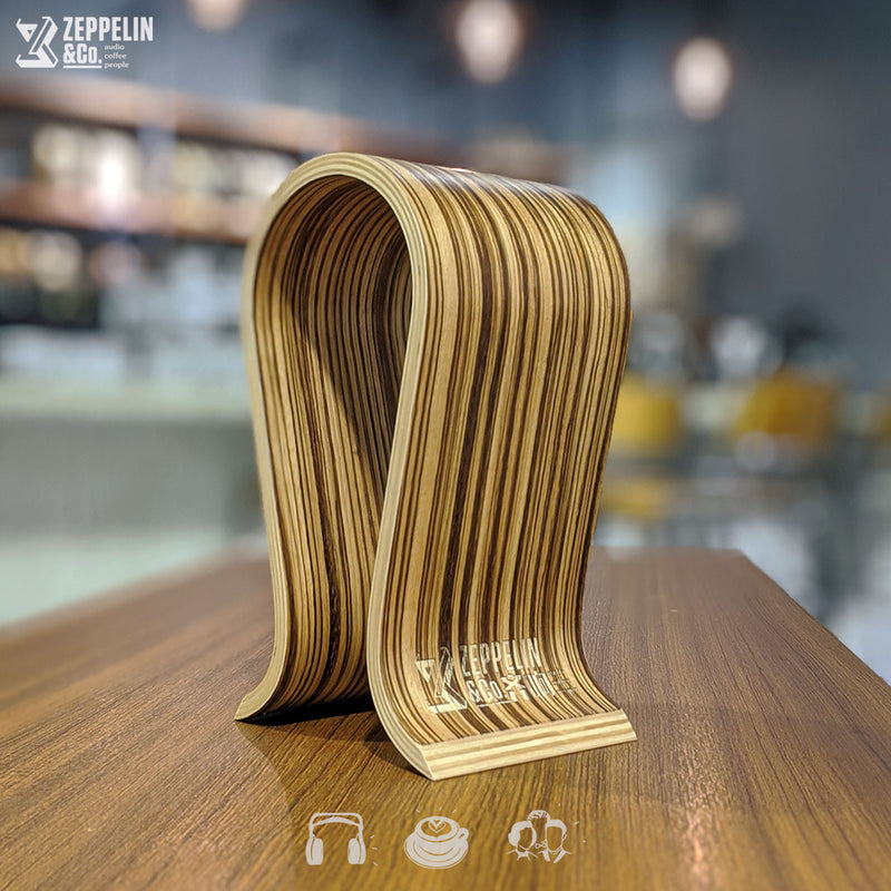 [COMEX] Zeppelin & Co. Omega Wooden Headphone Stand