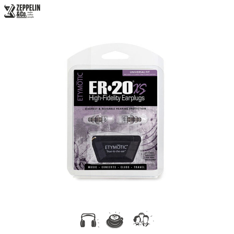 Etymotic ER20XS Earplugs Universal Fit