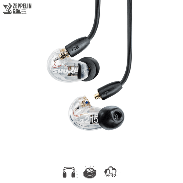 Shure SE215 + BT2 Wireless Cable
