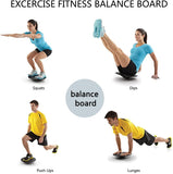 Exercise Fitness Balance Board for Yoga Pilates Workout/Rounded Base