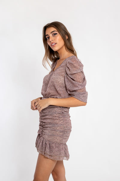 Puff Sleeve Lena Dress