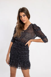 Puff Sleeve Dustin Dress
