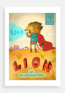 Big Five Superheroes, Lion