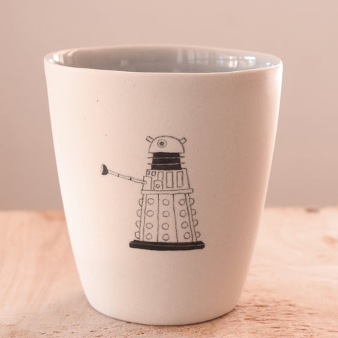 Dalek - Hand Illustrated Cup