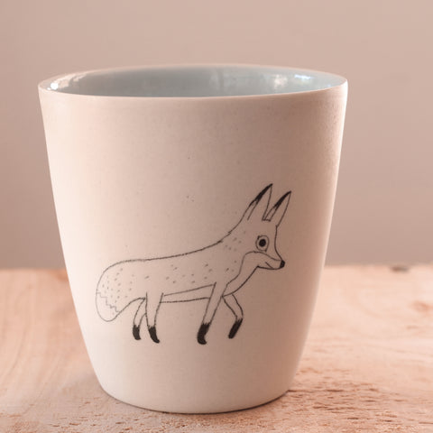 Fox - Hand Illustrated Cup