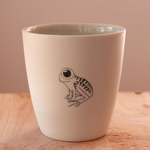 Frog - Hand Illustrated Cup