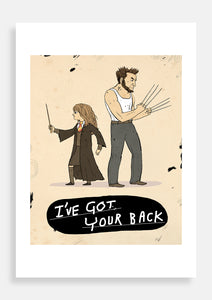 I got your back! Hermione Granger and Wolverine