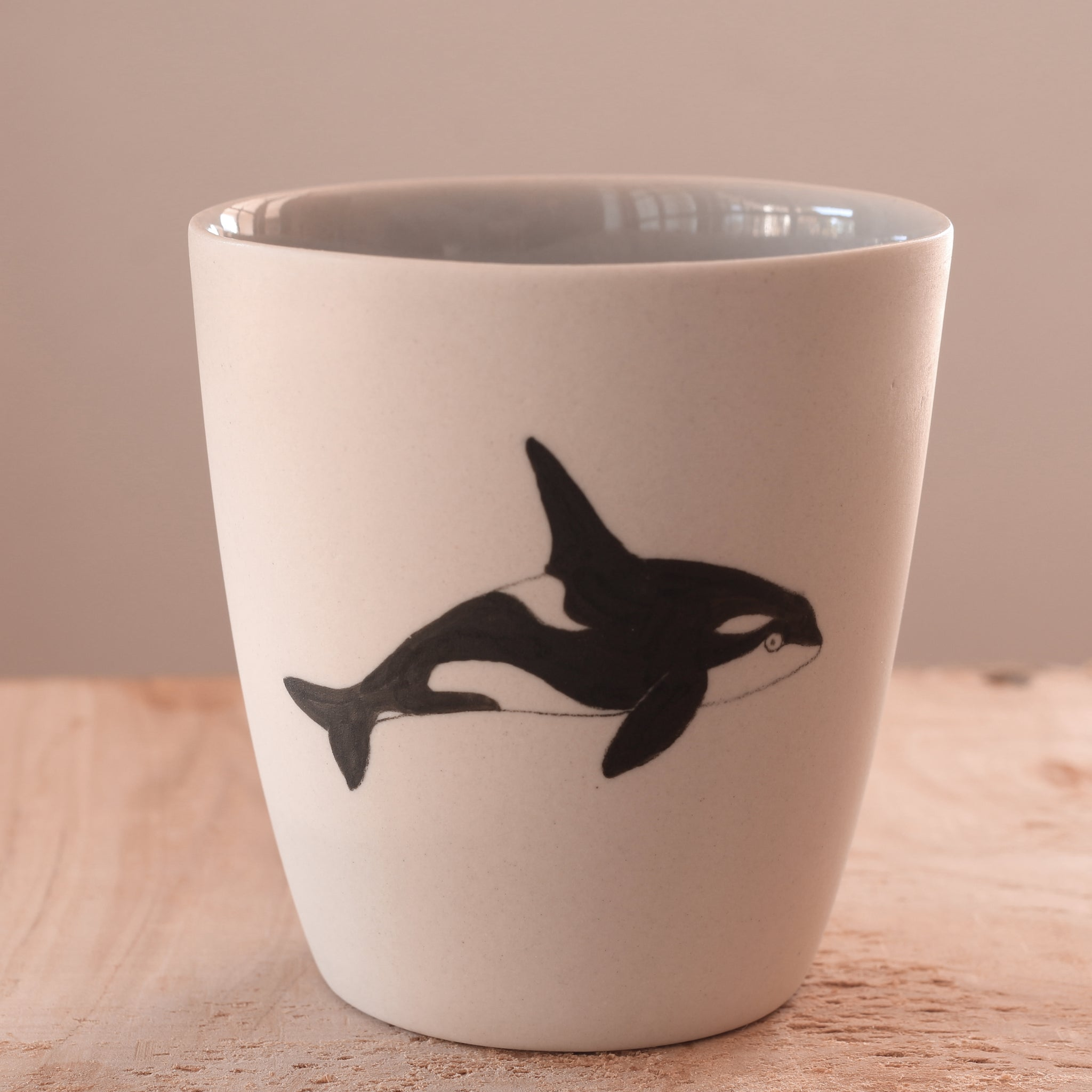 Orca - Hand Illustrated Cup