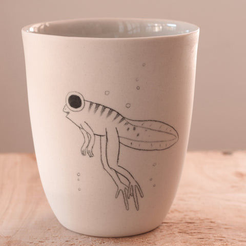 Tadpole - Hand Illustrated Cup