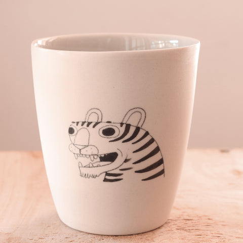 Tiger - Hand Illustrated Cup