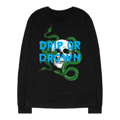 3 Headed Snake Longsleeve (Black)