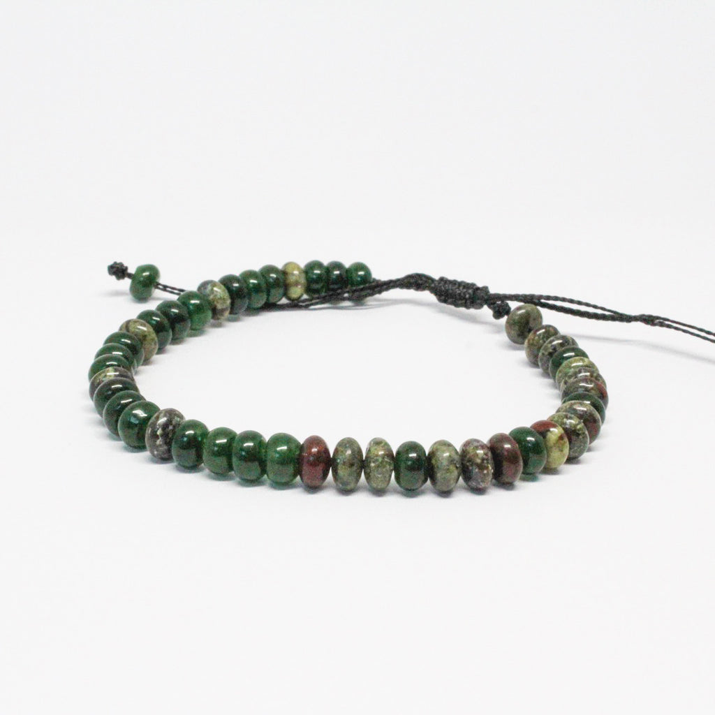 Jade and Jasper Gemstone Stacker