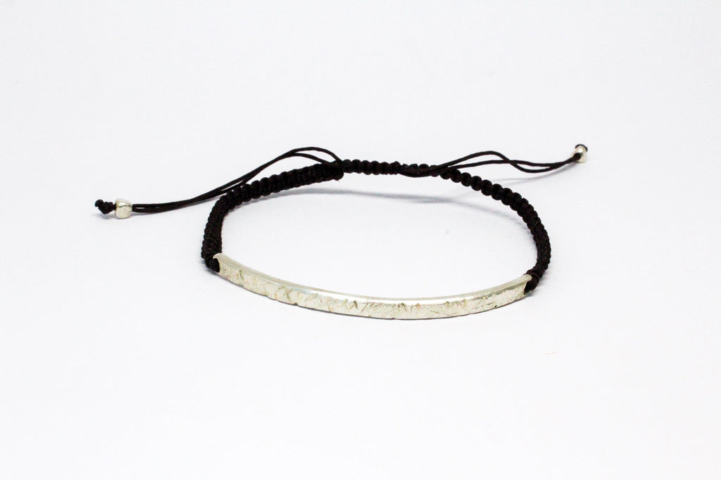 Rugged Skinny ID Bracelet