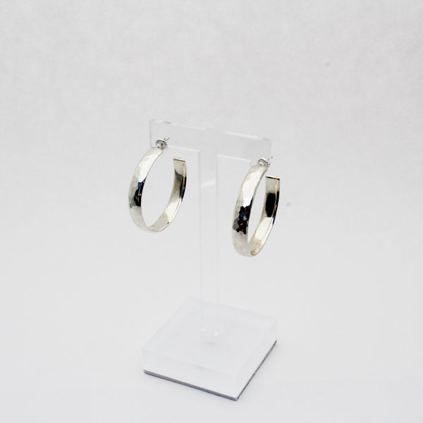 Big Mama Hammered Hoop Earrings