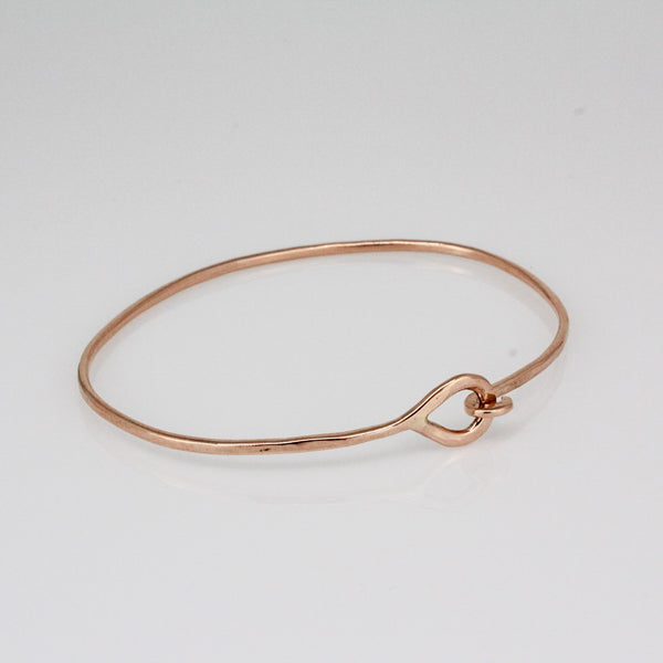 Rose Gold MIni Hook Bracelet