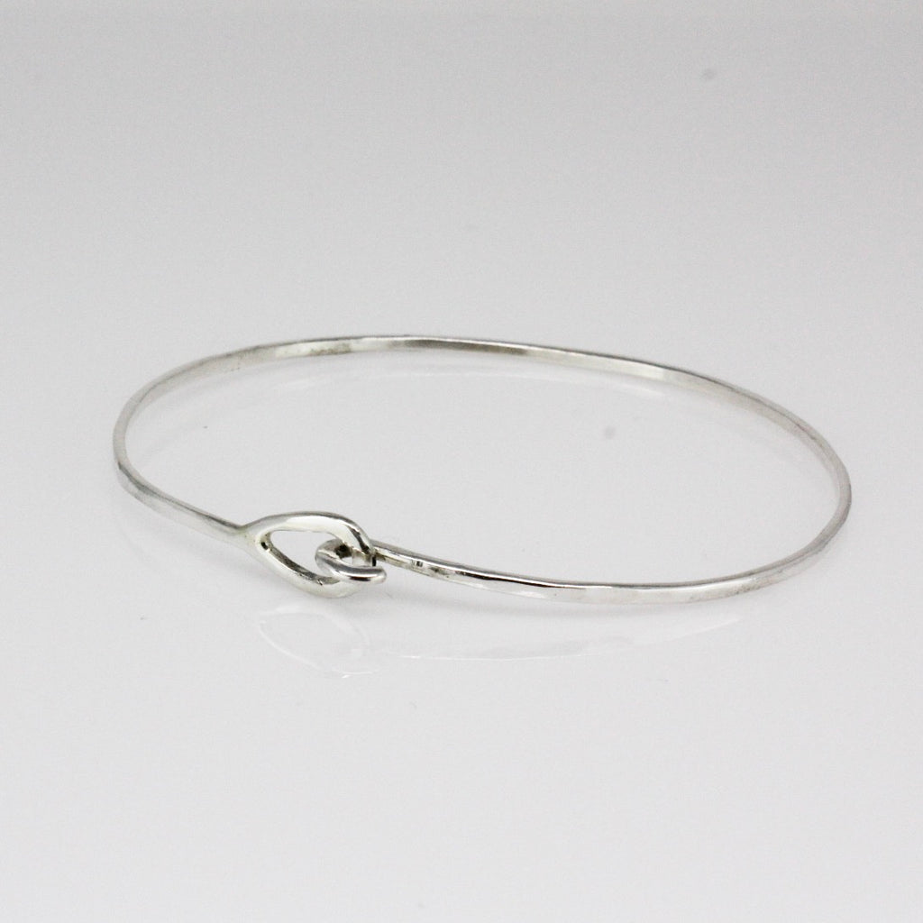 Sterling Silver Mini Hook Bracelet