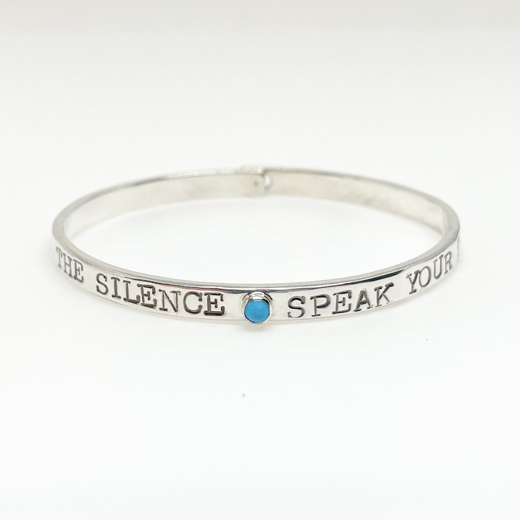 Break the Silence Bracelet
