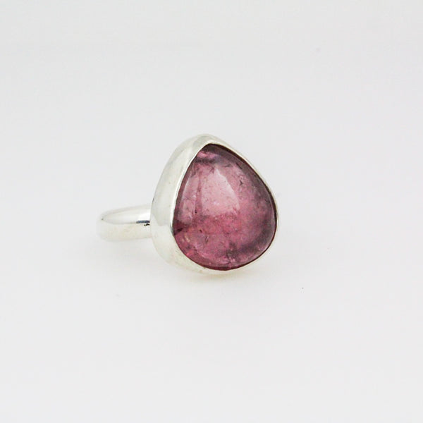 Pink Tourmaline Power Ring