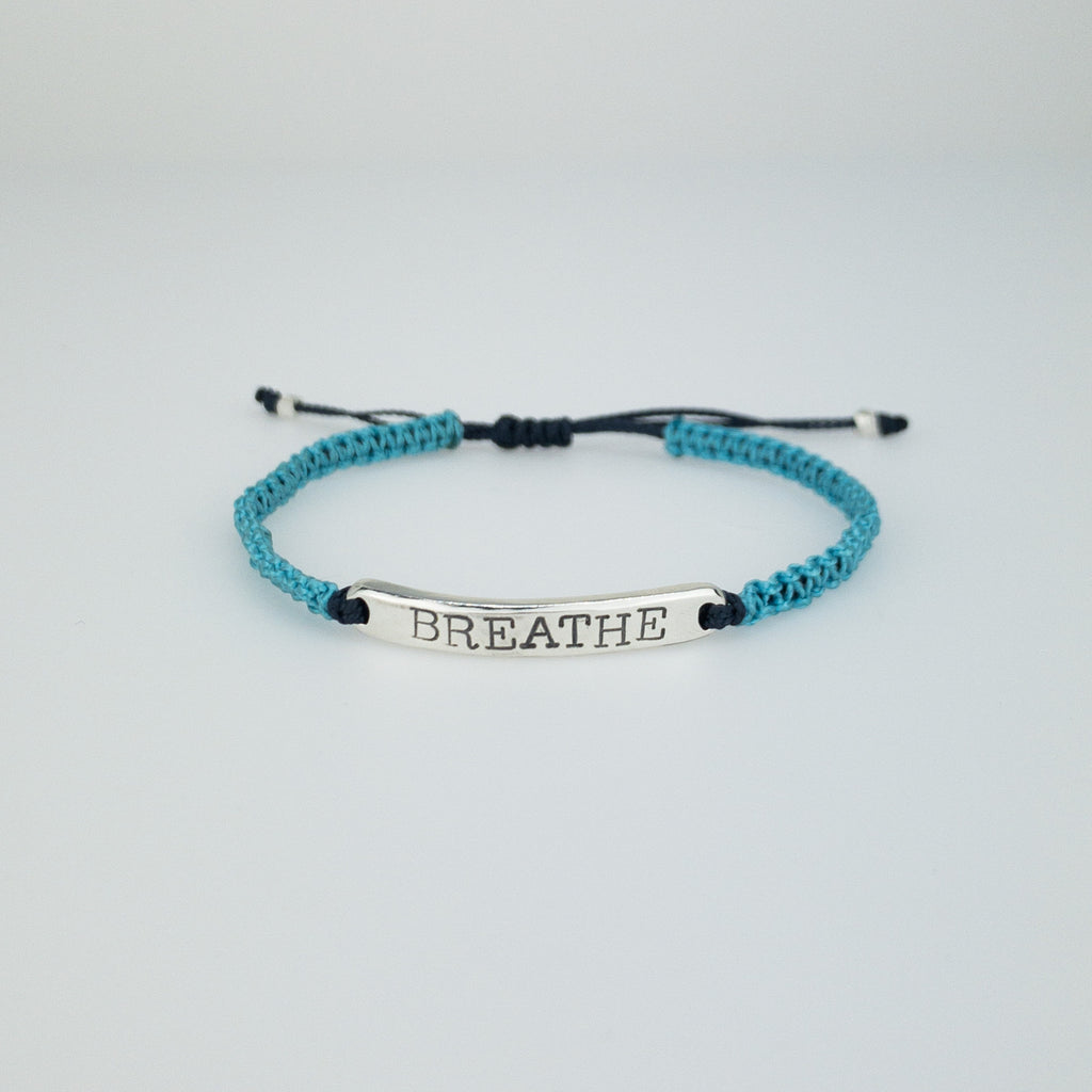 Customizable Adjustable Mantra ID Bracelet