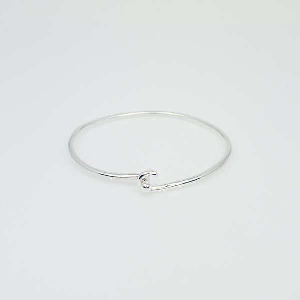Mini Hook and Ball Bracelet- Sterling Silver