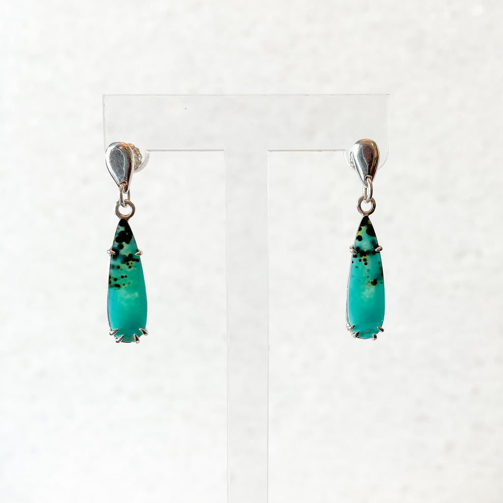 Gem Silica Ocean Drop Earrings