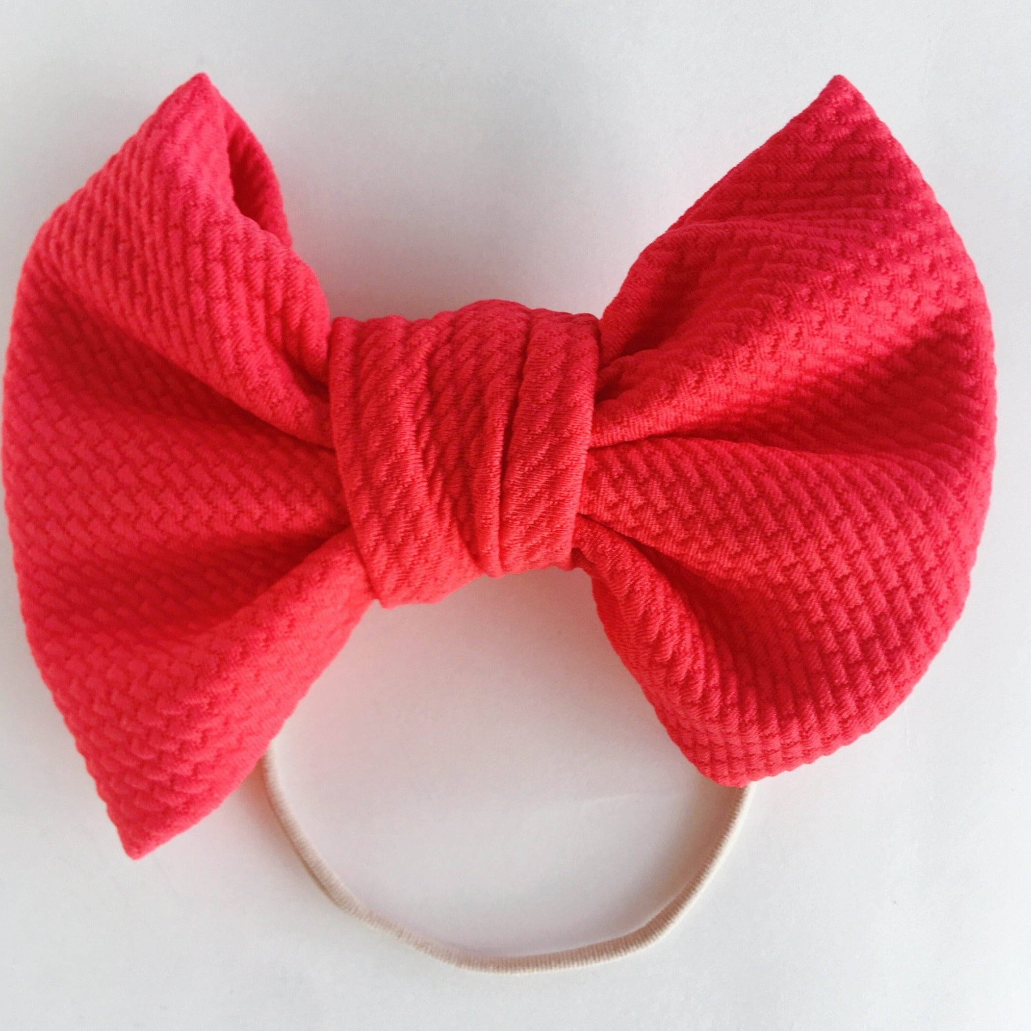 Coral Love Bow