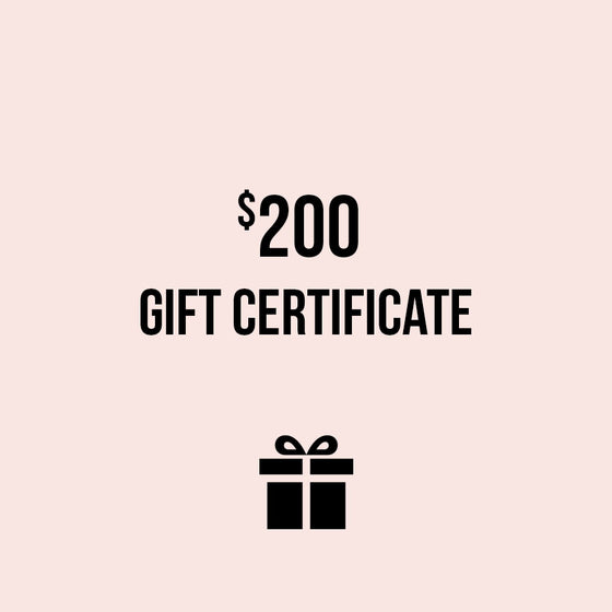 Gift Certificate to SHOP