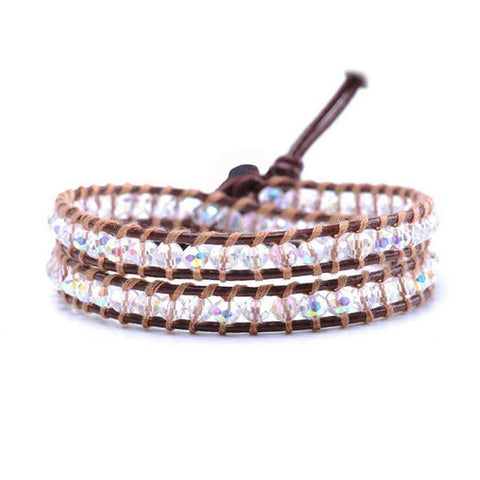 Crystal Nature Wrap Bracelet