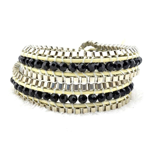 Electric Night Wrap Bracelet