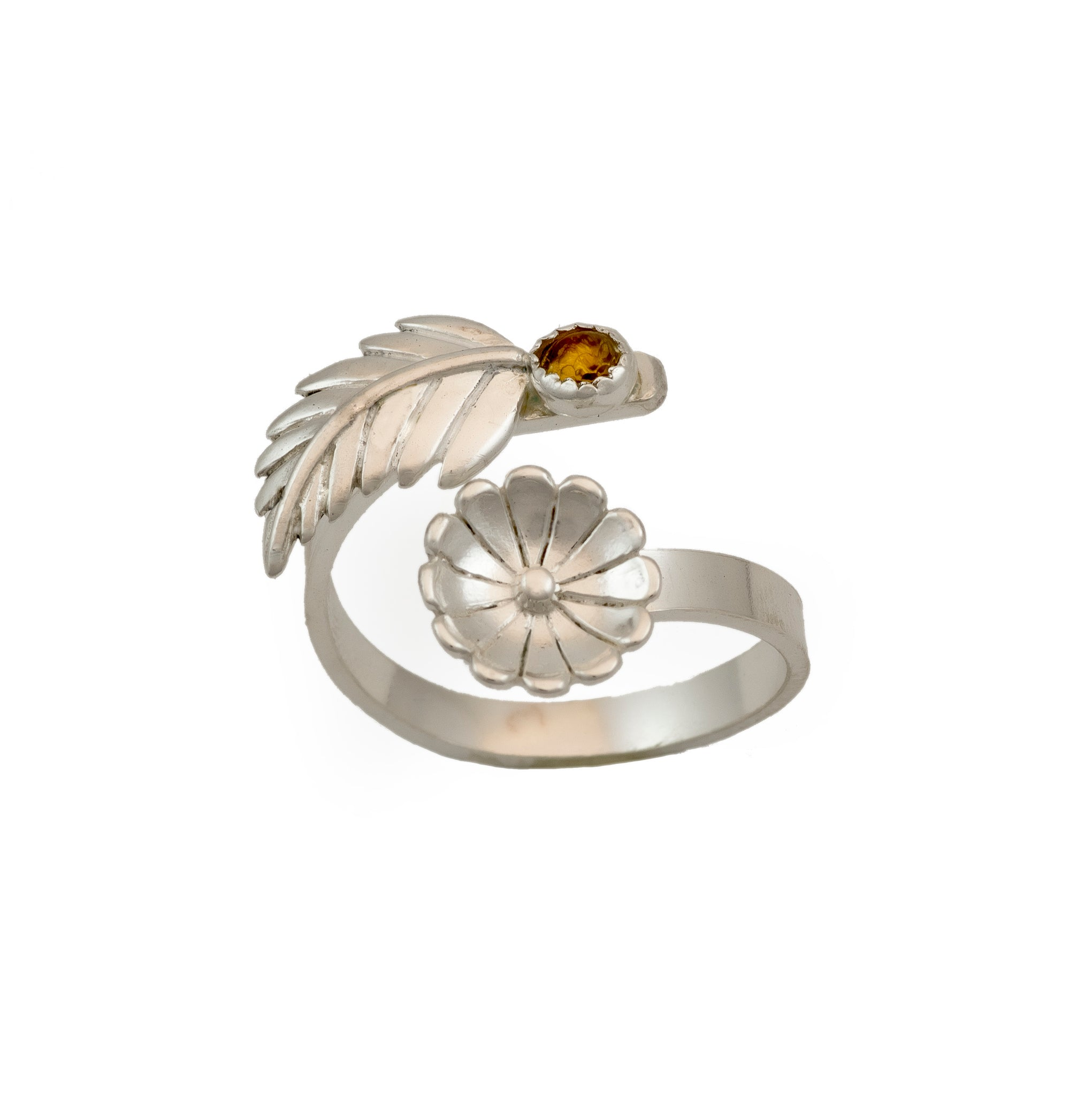 Daisy Adjustable Ring - (Multiple Stone Options)
