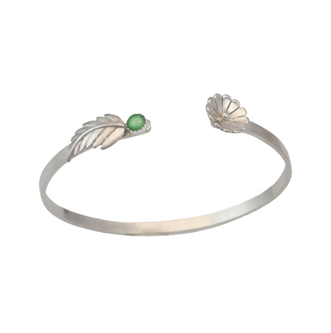 Daisy Cuff Bracelet - (Multiple Stone Options)