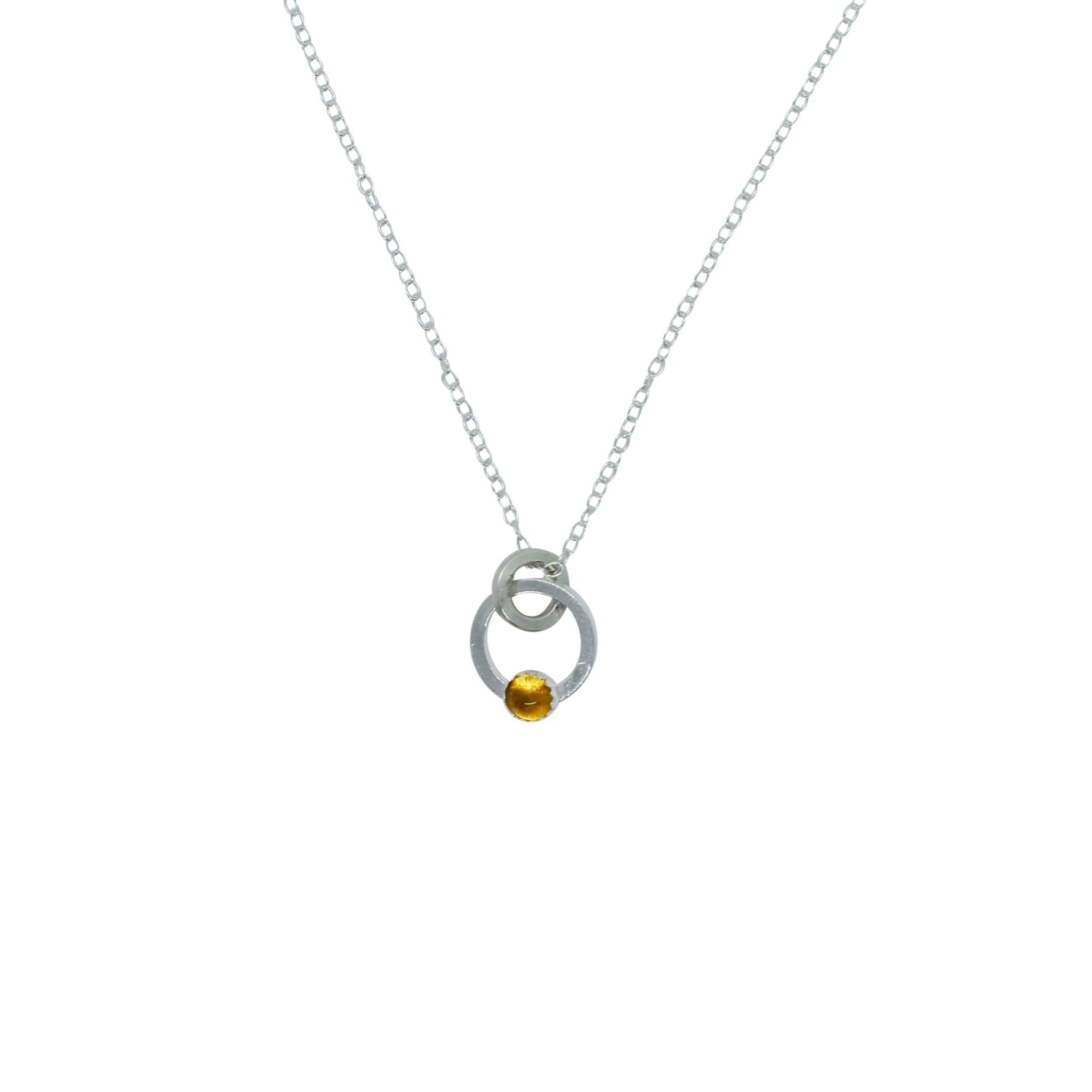 Element Pendant - multiple stone options
