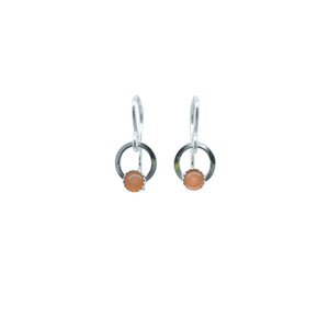 Element Earrings - Multiple Stone Options