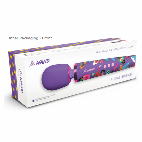 Le Wand Feel My Power Special Edition Wand - RedsatinUK Online Sex Store