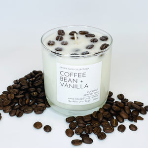 Coffee Bean + Vanilla Candle