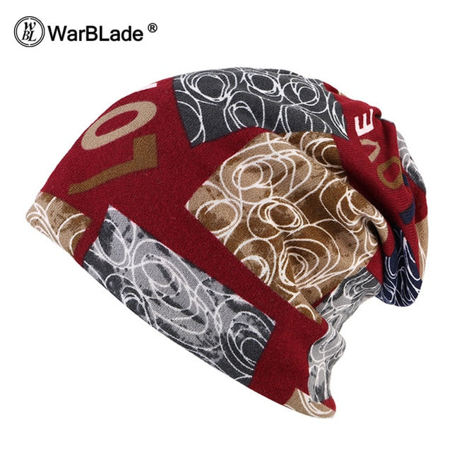 WarBLade 2018 New Fashion Headwear Women's hats Female Winter Caps Star hats ladies spring and autumn Hip-hot Skullies Beanies