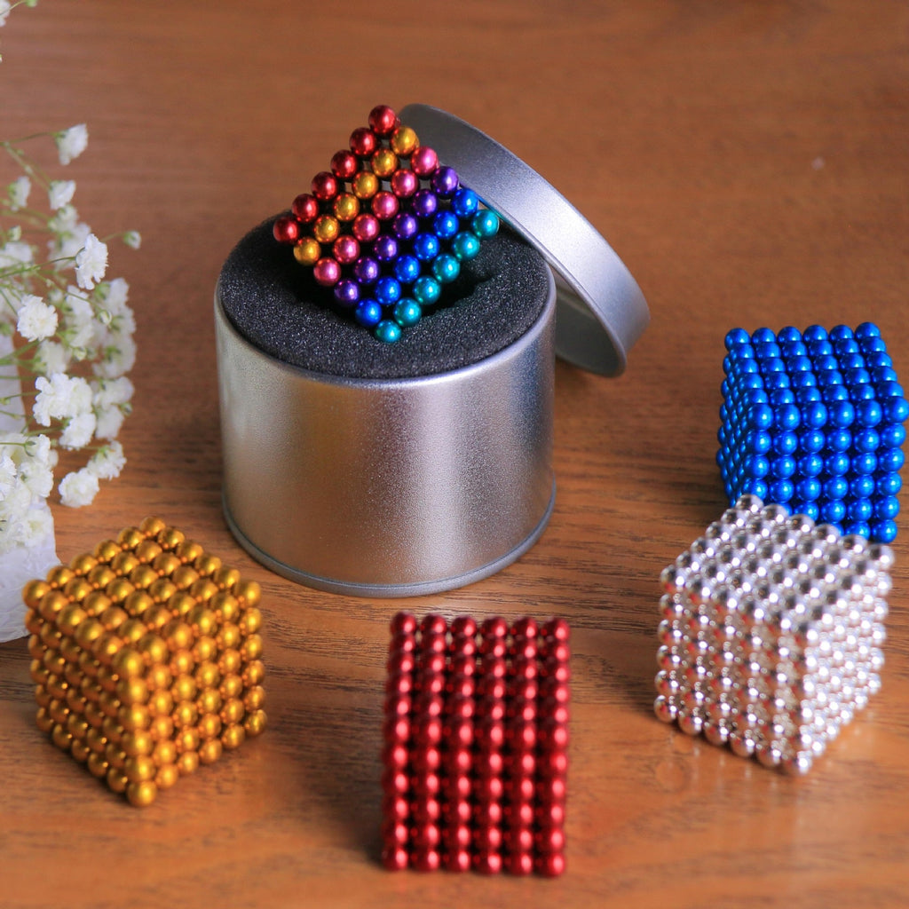 2019 New 5mm Metaballs 216pcs/set Magnetic balls Neo Cube With Metal