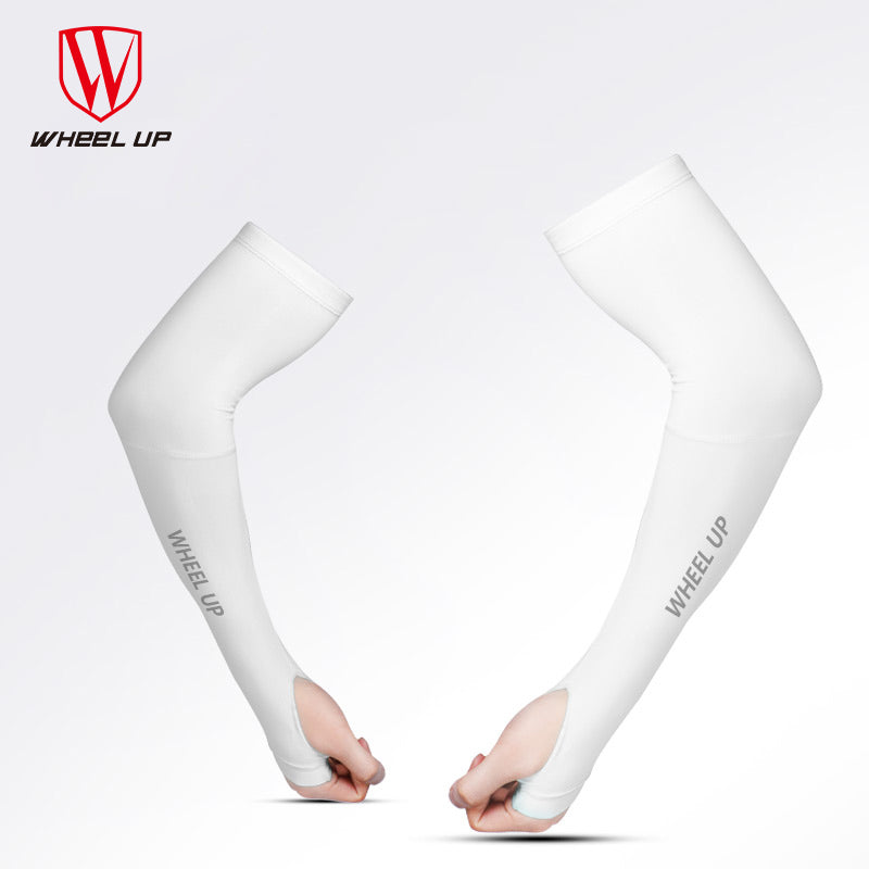 WHEEL UP UV Proof Sunscreen Cycling Sleeves Icecool MTB Bike Arm Protection Armwears Outdoor Riding Sleevelet Bicycle Equipment